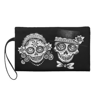 Sugar Skull Couple Bag