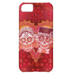 Sugar Skull Couple Cover For iPhone 5C