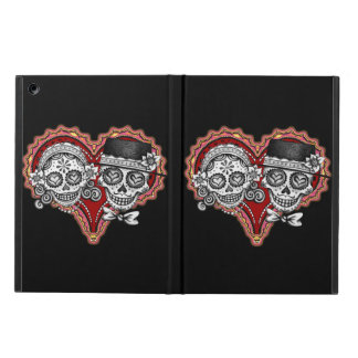 Sugar Skull Couple iPad Air Case (Powis)