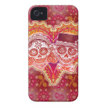Sugar Skull Couple iPhone 4/4S Barely There Case