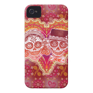 Sugar Skull Couple iPhone 4/4S Barely There Case Case-Mate iPhone 4 Cases