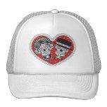 Sugar Skull Couple Trucker Hat