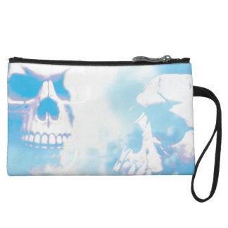 Sugar Skull Couple Wristlet Wallet