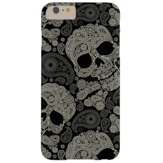 Sugar Skull Crossbones Pattern Barely There iPhone 6 Plus Case