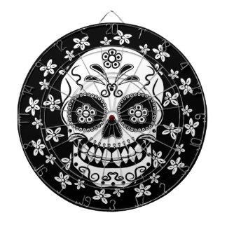 Sugar Skull Dartboard With Darts