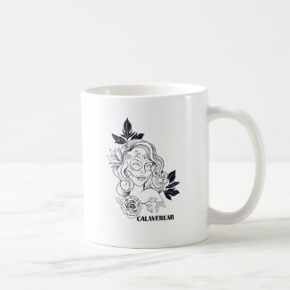 Sugar Skull Day Of The Dead  CALAVEREAR Coffee Mug