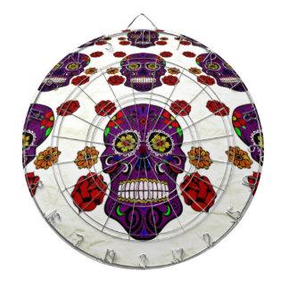 Sugar Skull (Day of the Dead) Dartboard