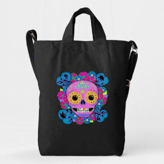 Sugar Skull Day of the Dead Duck Bag