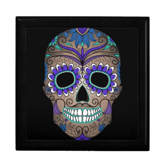 Sugar Skull Day of the Dead Gift Box