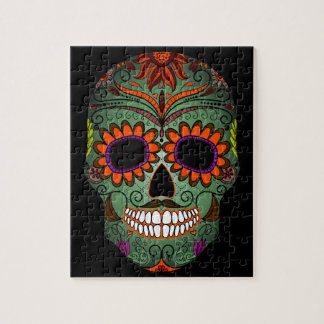 Sugar Skull Day of the Dead Jigsaw Puzzle
