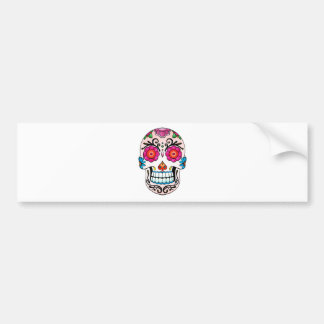 Sugar Skull - Day of the Dead, Tattoo, Mexico Bumper Sticker