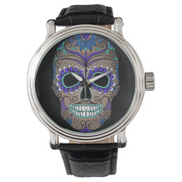 Sugar Skull Day of the Dead Watch