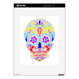Sugar Skull Decal For The iPad