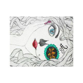Sugar Skull Design! Canvas Print