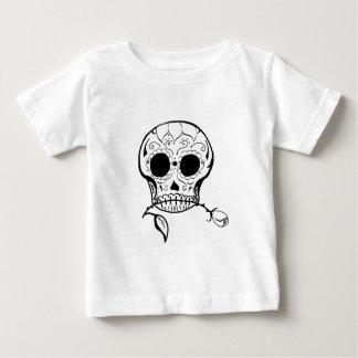 Sugar Skull Día de los Muertos Baby T-Shirt