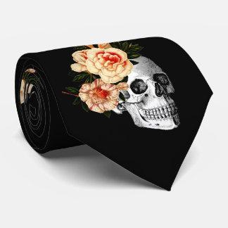 Sugar Skull Dia De Los Muertos Day of the Dead Neck Tie