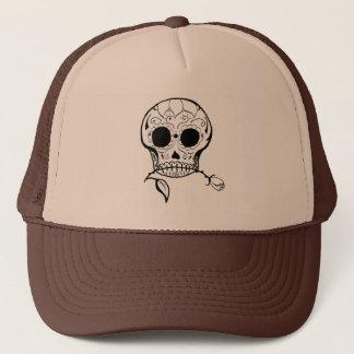 Sugar Skull Día de los Muertos Trucker Hat