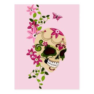 Sugar Skull [Día de Muertos] Postcard