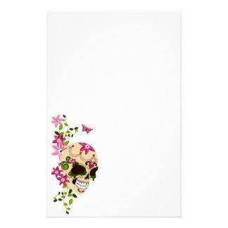 Sugar Skull [Día de Muertos] Customized Stationery