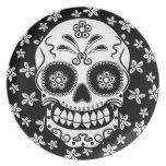 Sugar Skull Dinner Plates