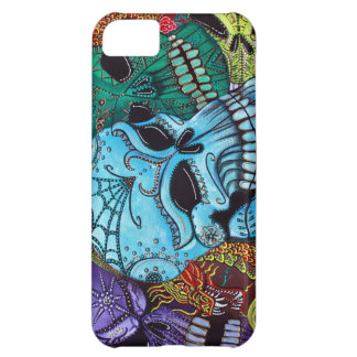 Sugar Skull Dragon Art iPhone 5C Covers