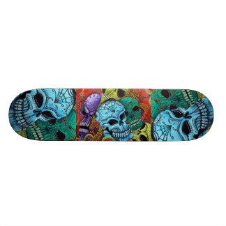 Sugar Skull Dragon Skateboard