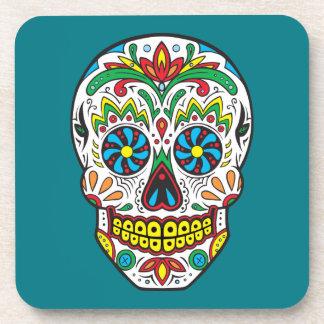Sugar Skull Drink Coaster