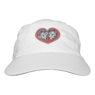 Sugar Skull Female Couple Headsweats Hat