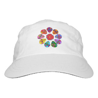 Sugar Skull Flower Headsweats Hat