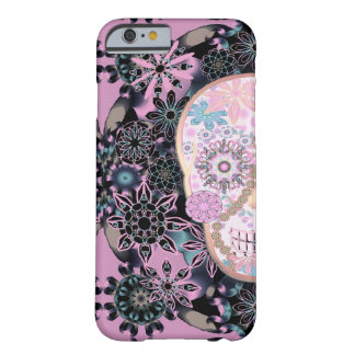 Sugar Skull | Flowers Pink Barely There iPhone 6 Case