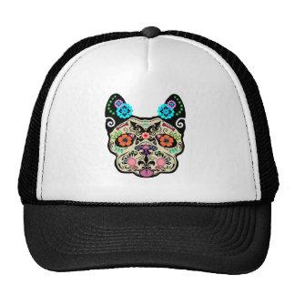 Sugar Skull Frenchie Trucker Hat
