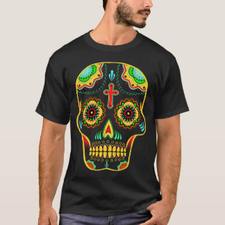 Sugar skull full color T-Shirt