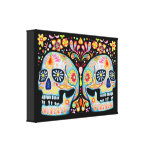 Sugar Skull Gallery Wrapped Canvas
