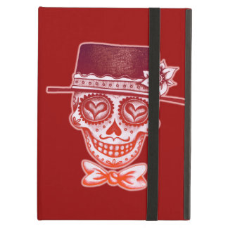 Sugar Skull Gentleman iPad Case with Kickstand