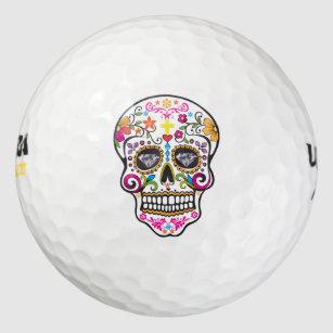 Sugar Skull Golf Balls