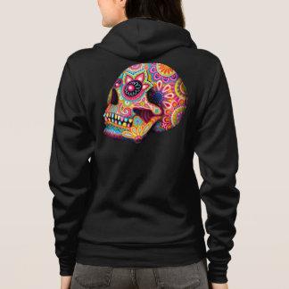 Sugar Skull Hoodie - Day of the Dead Hoodie