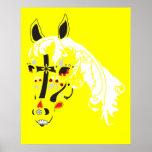 sugar skull horse poster