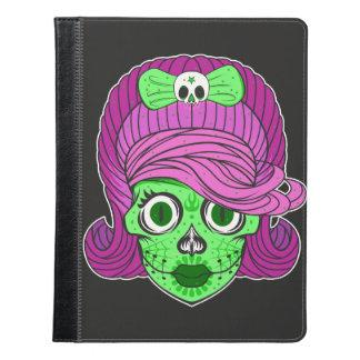 Sugar Skull illustration iPad Case