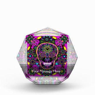 Sugar Skull in Neon Pink Award