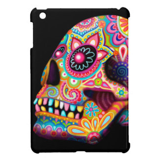 Sugar Skull iPad Mini Case - Day of the Dead Art