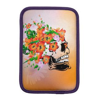 Sugar skull sleeve for iPad mini