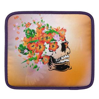 Sugar skull sleeve for iPads