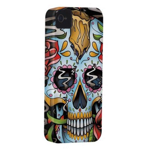 Sugar Skull iPhone 4 Case