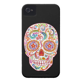 Sugar Skull iPhone 4 Case Day of the Dead
