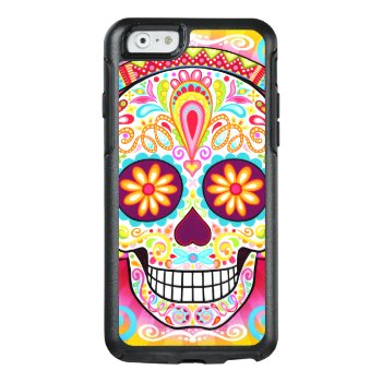 Sugar Skull Iphone 6/6s Case by thaneeyamcardle at Zazzle