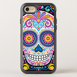 Sugar Skull iPhone 6/6S - Day of the Dead Art OtterBox Symmetry iPhone 7 Case