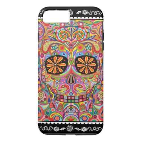 Sugar Skull iPhone 7 Plus Case Phone Case