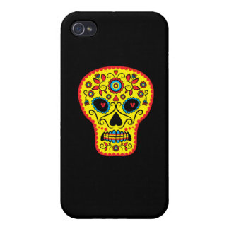 Sugar Skull iPhone Case iPhone 4 Covers
