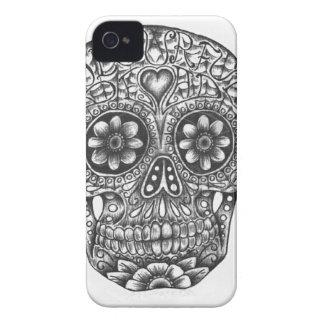 Sugar Skull iPhone Case Case-Mate iPhone 4 Cases