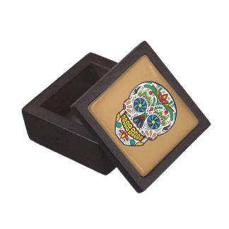 Sugar Skull Jewelry Box